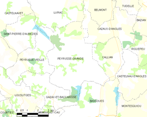 Map commune FR insee code 32315.png