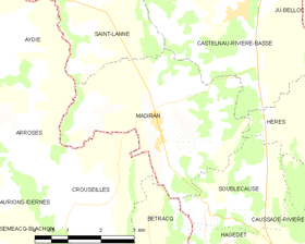 Map commune FR insee code 65296.png
