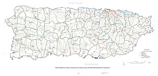 Roads in Puerto Rico National, interstate, forest and municipal roadways in Puerto Rico