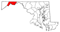 Map of Maryland highlighting Allegany County.png