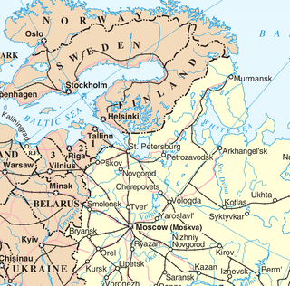 one of traditional regions of Russia; not to be confused with political Northwestern Federal District