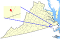 Map showing Franklin city, Virginia.png