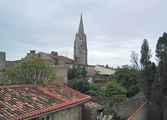 Marennes, Charente-Maritime - Image: Marennes Toits