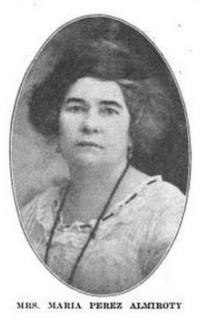 María Martínez Acosta politician