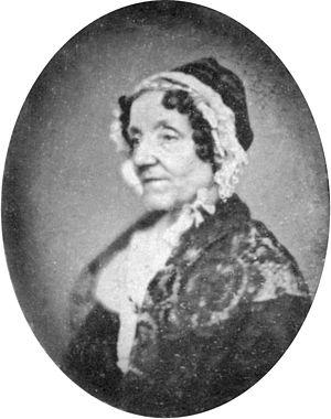 Maria Edgeworth (1768-1849). Daguerreotype, 54...