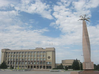 Marijampolė - Marijampolė Basanavičius square