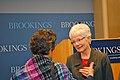 Marilyn Friend speaks with an audience member (5367770728).jpg