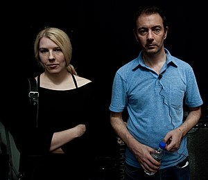 Quique - Two original Seefeel members Sarah Peacock and Mark Clifford in 2010.
