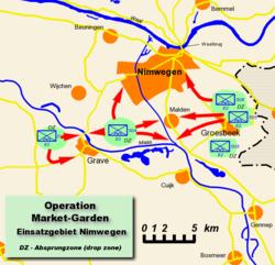 Allied Landings near Nijmegen