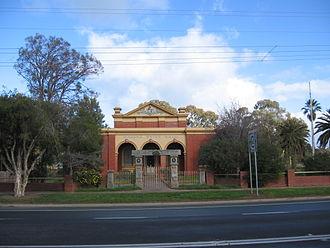 Marong - The former Shire Hall at Marong