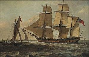 Marquis Cornwallis (1789 ship) - Image: Marquis Cornwallis in 1793
