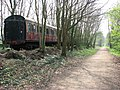 Marriott's Way past head shunt at Whitwell Station - geograph.org.uk - 1255603.jpg