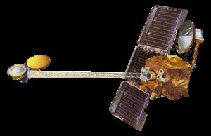 2001 Mars Odyssey - Artist's impression of the Mars Odyssey spacecraft
