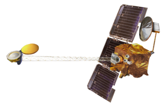 2001 Mars Odyssey - Artist's impression of the Mars Odyssey spacecraft