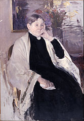 Mrs. Robert S. Cassatt, the Artist's Mother