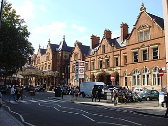 Marylebone station - The facade of Marylebone Station, designed by Henry William Braddock