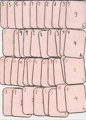 mathematical deck.