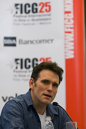 Matt Dillon - Dillon at the Festival Internacional de Cine de Guadalajara, March 2010