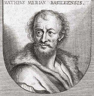 Matthäus Merian Swiss-born engraver, publisher (1593–1650)
