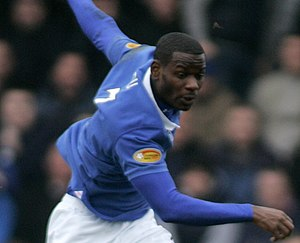 Maurice Edu - Maurice Edu playing for Rangers in 2011