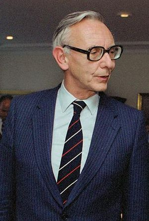 Max van der Stoel. Minister of Foreign Affairs...