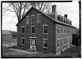 May 1969 VIEW LOOKING SOUTHEAST - Cheshire Mills Company Boarding House, Main Street, Harrisville, Cheshire County, NH HABS NH,3-HAR,4-3.tif
