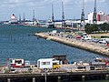 Mayflower Park and quayside, Southampton - geograph.org.uk - 855233.jpg