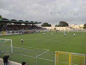 Mazara Calcio A.S.D. - Mazara 1946 during a home match in 2009