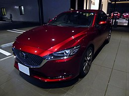 Mazda ATENZA SEDAN 25S L Package (6BA-GJ5FP) at night front.jpg