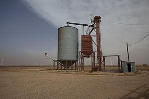 McAdoo, Texas - Small grain handling facility in McAdoo