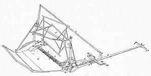 Cyrus McCormick - Sketch of 1845 model reaper