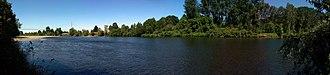 McKenzie River (Oregon) - Image: Mc Kenzie River Panorama