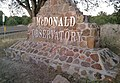 Mcdonald observatory sign - panoramio.jpg
