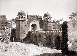 Gates in Aurangabad, Maharashtra - Mecca Gate 1880s, Aurangabad