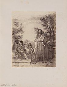 Memon Women From Photographs Of Western India Series 1855 1862