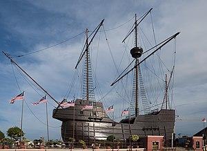 Maritime Museum (Malaysia) - Image: Melaka Malaysia Flor de la mar 01