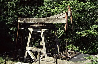 Melingriffith Water Pump water-driven water pump built around 1793 to return water from the Melingriffith Tin Plate Works to the Glamorganshire Canal