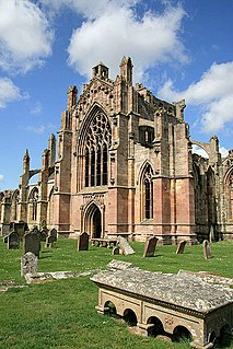 Melrose Abbey partly ruined monastery in Melrose, United Kingdom