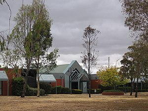 Melton South, Victoria - The Melton Campus of Victoria University, Wilson Road