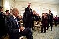 Members of the Senate Democratic Caucus applaud the Vice President.jpg