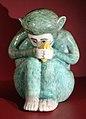 Mennecy, statuetta di piccola scimmia, 1740 ca..JPG