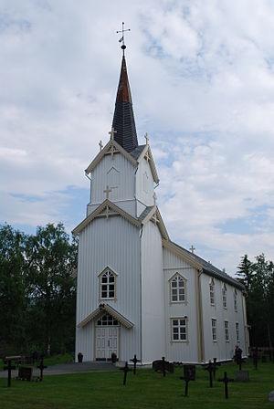 Meråker Church - Image: Meråker kirke 01
