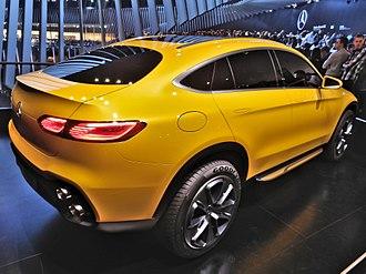Mercedes-Benz GLC-Class - Mercedes-Benz Concept GLC Coupé at Frankfurt Motor Show 2015