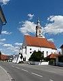 Merching - Hauptstr - Kirche v S.jpg