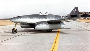 Messerschmitt Me 262A no Museu Nacional do USAF.jpg