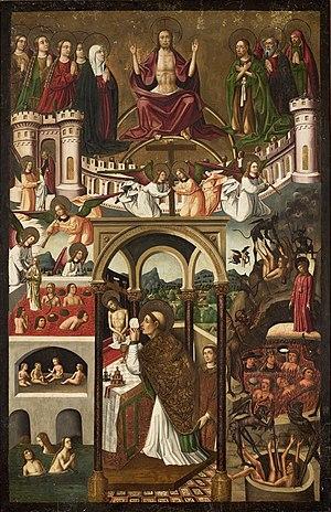 Mass of Saint Gregory - Image: Mestre da Família Artés Juízo Final