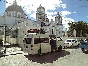 Miahuatlán de Porfirio Díaz - Church in Miahuatlán de Porfirio Díaz