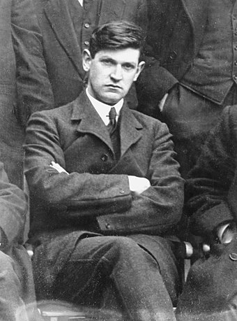 Michael Collins, photographed in 1919 Michael Collins.jpg