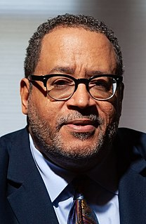 Michael Eric Dyson Black American academic and ordained minister