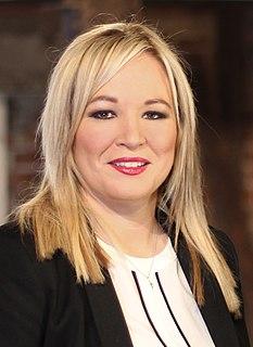 Michelle ONeill Deputy First Minister of Northern Ireland, Vice President of Sinn Féin